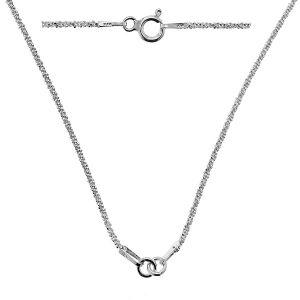 Baza łańcuszkowa typu Ankier na 1 zawieszkę*srebro AG 925*CHAIN 49 42 cm (SUGAR 035)