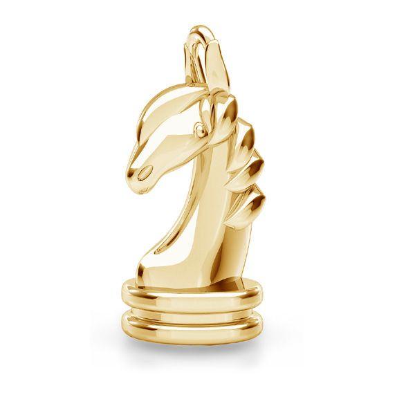 Zawieszka - konik szachowy, skoczek*srebro AG 925*ODL-00842 8,1x16,2 mm