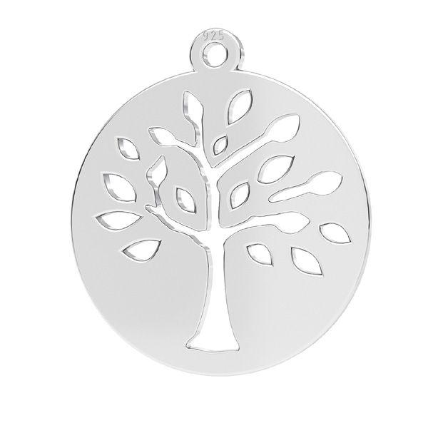 Zawieszka - drzewo*srebro AG 925*LKM-2626 - 0,50 16x17,5 mm