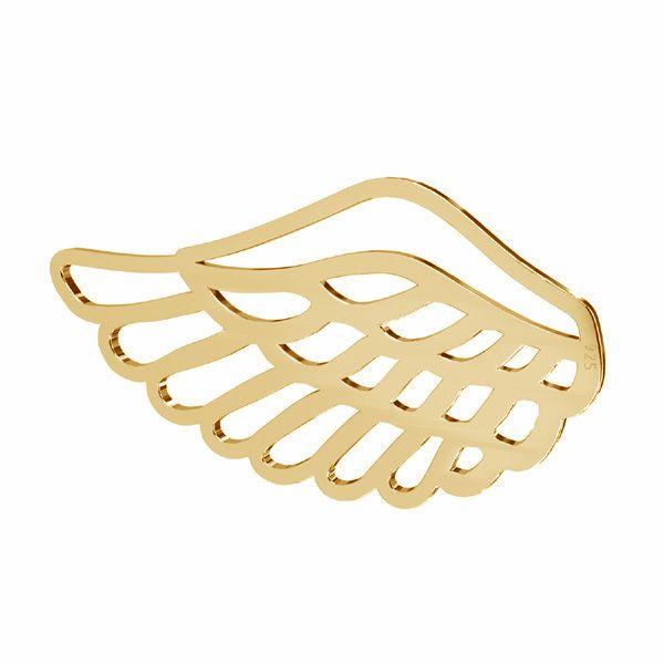 Zawieszka ażurowa - skrzydło anioła*srebro AG 925*LKM-2753 - 0,50 16,1x30 mm