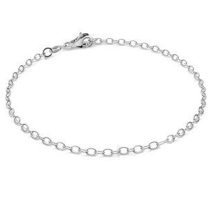 Bransoleta łańcuszkowa - baza do CHARMS*srebro AG 925*A 050 19 cm (CHP 9)