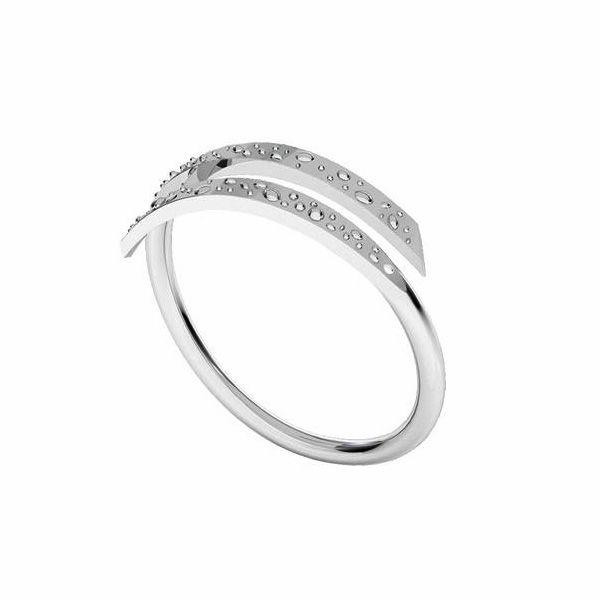 Pierścionek uniwersalny - wzorek*srebro AG 925*U-RING 005 1,5x19,1 mm