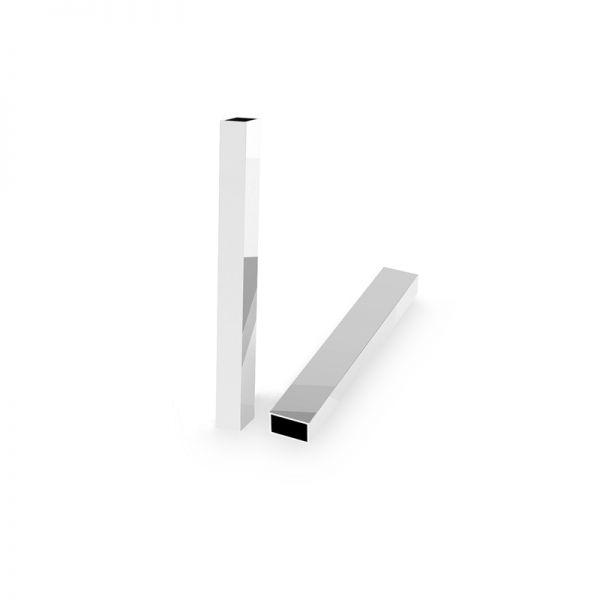 Zawieszka - prostokątna rurka*srebro AG 925*RURK-005 6,1x35 mm