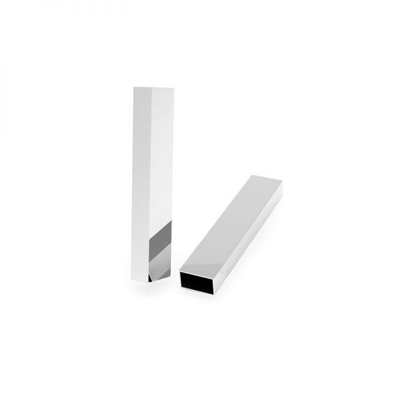 Zawieszka - prostokątna rurka*srebro AG 925*RURK-009 8x35 mm