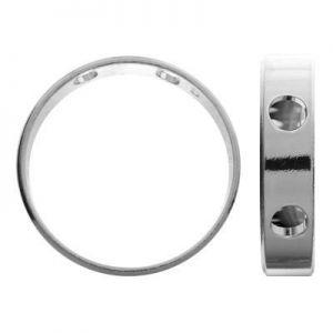 Zawieszka - celebrytka - okrąg*srebro AG 925*ODL-00231 4,4x10,5 mm