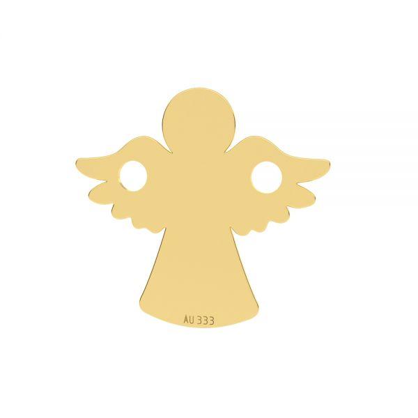 Złota zawieszka łącznik - anioł*złoto AU 333*LKZ8K-30095 - 0,30 13x13 mm