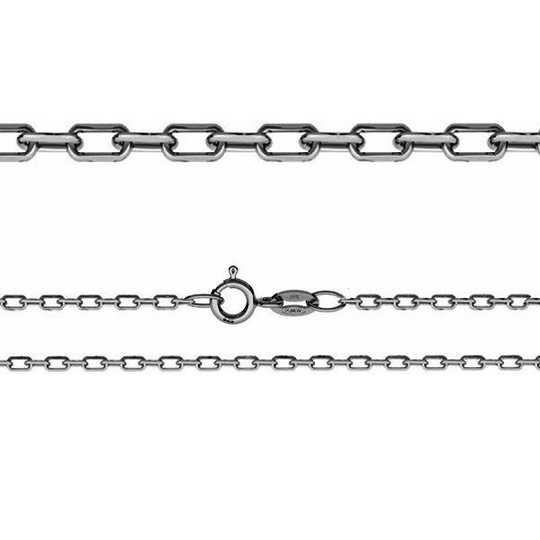 Łańcuszek typu Ankier z zamkiem*srebro AG 925*AD 70 45-75 cm