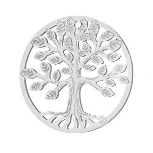 Zawieszka - drzewo życia*srebro AG 925*LKM-2939 - 0,50 19x19 mm
