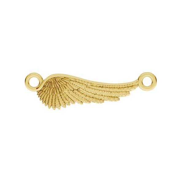 Zawieszka łącznik - skrzydło anioła*srebro AG 925*CON 2 ODL-00162 6,5x24,5 mm