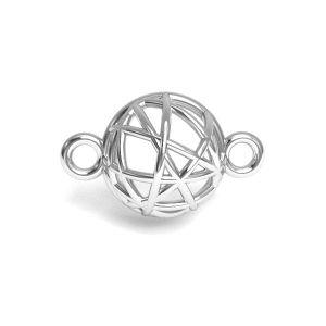 Zawieszka łącznik - półkula*srebro AG 925*CON 1 E-PENDANT 645 8,4x13,3 mm