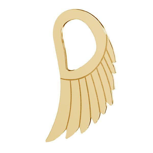 Zawieszka - skrzydło anioła*srebro AG 925*LKM-2221 - 0,50 8,8x15 mm