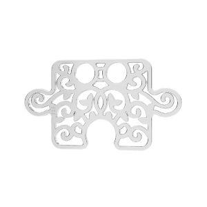 Zawieszka - puzzel*srebro AG 925*LKM-2639 - 0,50 11x19 mm