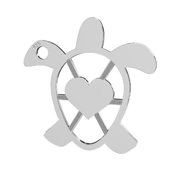 Zawieszka - żółw*srebro AG 925*LKM-2192 - 0,50 16,3x16,3 mm