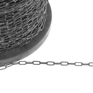 Łańcuszek metraż niepolerowany - typu Ankier owalny*srebro AG 925*AFLK 1,00 3,9x8,6 mm