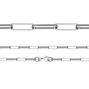 Łańcuszek typu Ankier z zamkiem*srebro AG 925*FIO 100 40 cm