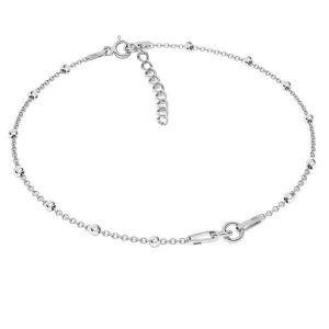Bransoleta łańcuszkowa - dwuczęściowa baza z przedłużką*srebro AG 925*A 030 PL 2,0 BRACELET 28 15+4 cm