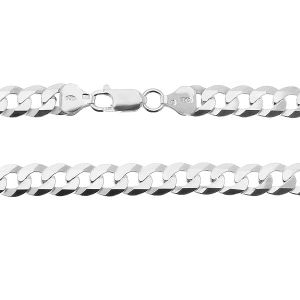 Bransoletka typu Pancerka z zamkiem*srebro AG 925*PD 180 6L 19 cm