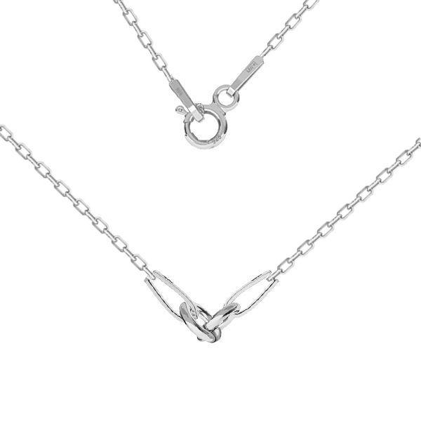 Baza łańcuszkowa typu Ankier z kulkami 2-elementowa*srebro AG 925*CHAIN 52 A 030 PL 2,0 42 cm