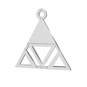 Zawieszka trójkąt*srebro AG 925*LKM-2222 - 0,50 18,6x18,7 mm