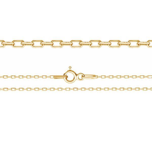 Łańcuszek typu Ankier z zamkiem*srebro AG 925*AD 30 45 cm