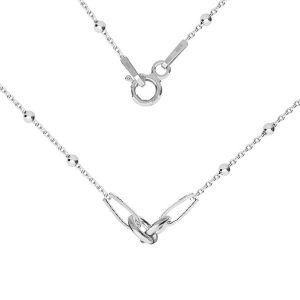Baza łańcuszkowa typu Ankier 2-elementowa*srebro AG 925*A 030 CHAIN 2 ver.1 41 cm