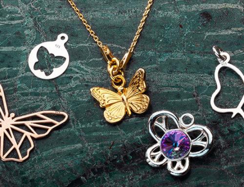 Srebrna biżuteria idealna na wiosnę!