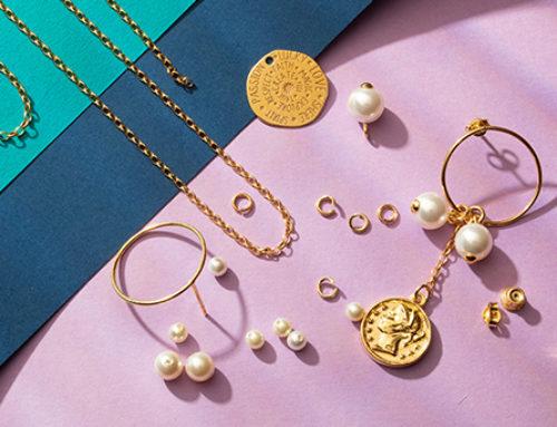Półfabrykaty do biżuterii złotej